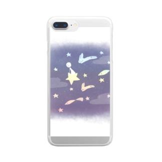空泳ぐ Clear smartphone cases