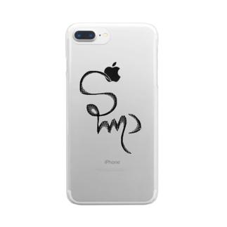 〜slump〜 Clear smartphone cases