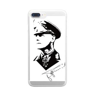 ロンメル元帥 Clear Smartphone Case