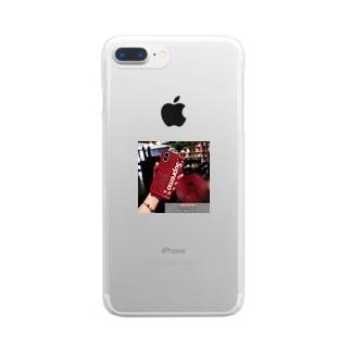 かわいい iphoneケース ボンボン付き ハンドベルト Clear smartphone cases