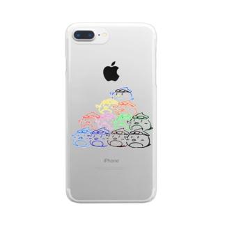 よぎやさんタワー Clear smartphone cases