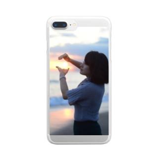 つかさんせっと Clear smartphone cases