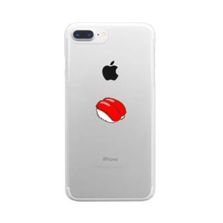 すし Clear smartphone cases