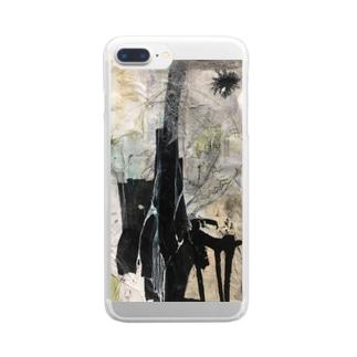 「測りかねている」 Clear smartphone cases
