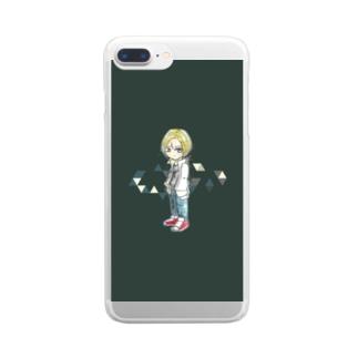 三角包囲 Clear smartphone cases