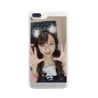デコ入賞記念グッズ💖 Clear smartphone cases