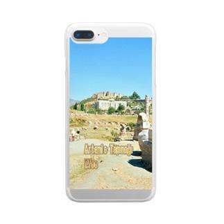 トルコ:アルテミス神殿址 Turkey: The site of the temple of Artemis / Ephesus (Efes/İzmir) Clear smartphone cases