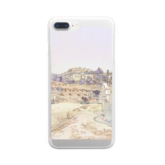 CG絵画:アルテミス神殿址 CG art: The site of the temple of Artemis / Ephesus (Efes/İzmir) Clear smartphone cases