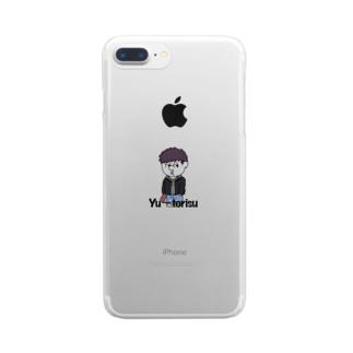 さつま芋が好きなんです Clear smartphone cases