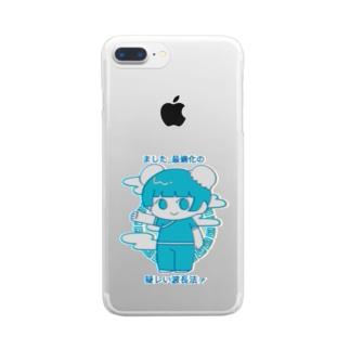 チャイナガール(際) Clear smartphone cases