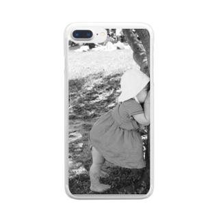 君が好き Clear smartphone cases