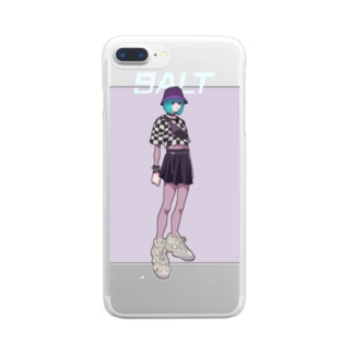 SALT Clear smartphone cases