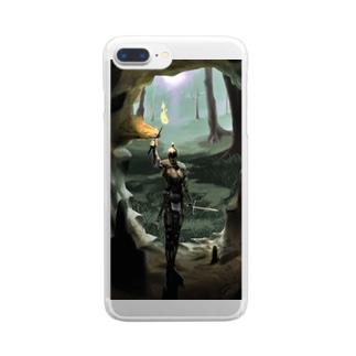 騎士さまスマホケース Clear smartphone cases