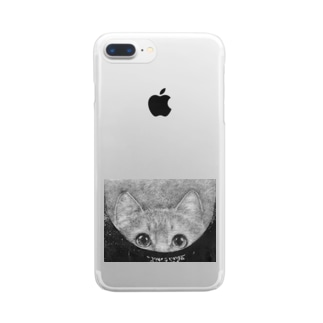 OverEyes  -- innocence -- Clear smartphone cases
