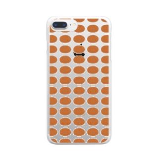 おでん・さつま揚げ Clear smartphone cases
