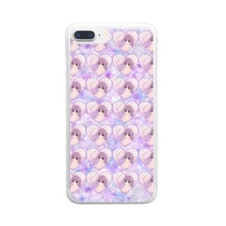 ゆめかわっ子 Clear smartphone cases