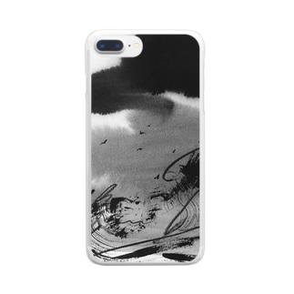 墨on墨 Clear smartphone cases