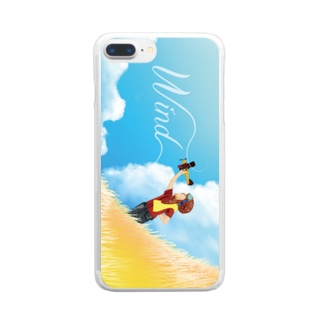I want to be a pilot Clear smartphone cases