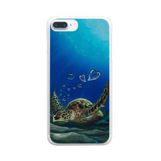 Lovely Honu Clear smartphone cases