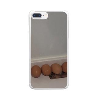 たまご Clear smartphone cases