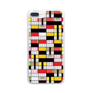 なんかお寿司食べたいな Clear smartphone cases