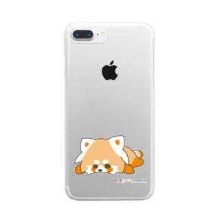 ☆(限定品)☆虹くまだらけ☆たれ みかん☆Aバージョン☆ ☆虹くまだらけ公式グッズ☆ Clear smartphone cases