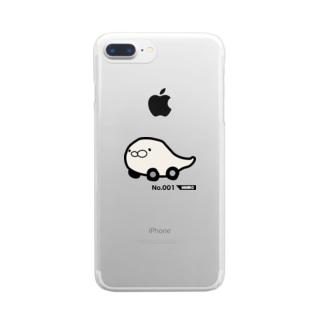 あざらセダン Clear smartphone cases