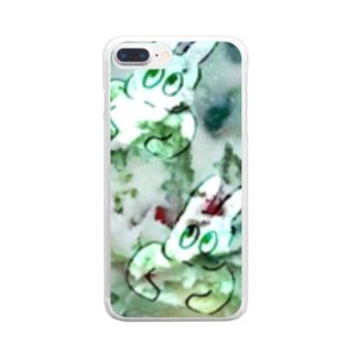 おもしろくなっちゃう Clear smartphone cases