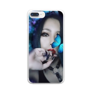 「Me」中ノ人~Lost'knot~ Clear smartphone cases