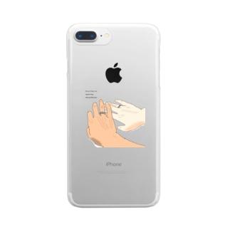 ペアリングと君と Clear smartphone cases