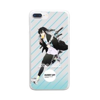 沖田総司×NOWADAYS Clear smartphone cases
