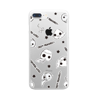 Zombies Fruit!☆a Clear smartphone cases