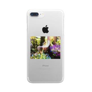 たんぽぽ Clear smartphone cases