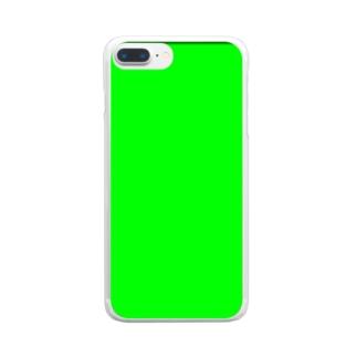 グリーンバック Clear smartphone cases