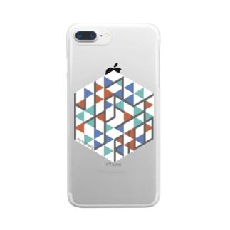 トリクロマシイiPhoneケース Clear Smartphone Case