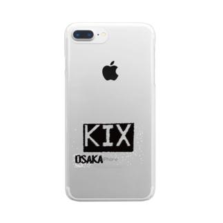 KIX Flight Clear smartphone cases