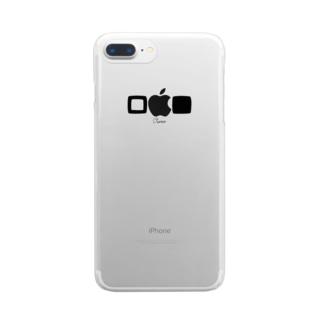□■ケース(iPhone7plus/8plus) Clear smartphone cases