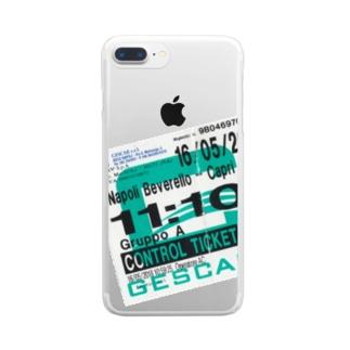 ナポリからカプリ島へのチケット Clear smartphone cases