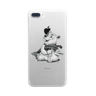 バーニーベア Clear smartphone cases