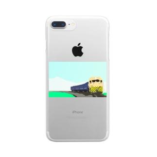 田園を走る Clear smartphone cases