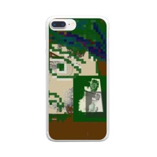 探検家 Clear smartphone cases