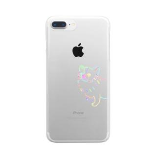うちんちのちょび Clear smartphone cases