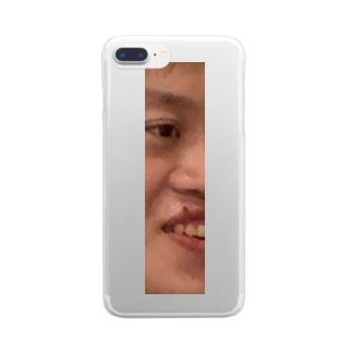 期間限定 左ぐっち Clear smartphone cases