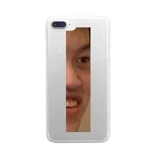 期間限定 右ぐっち Clear smartphone cases