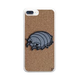 ダイオウグソクムシムシくん Clear smartphone cases