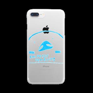 ペンギンストアのエンペラーペンギン  Clear smartphone cases