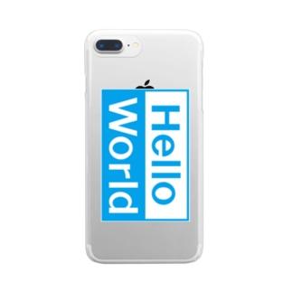 はじめの一歩 Clear smartphone cases