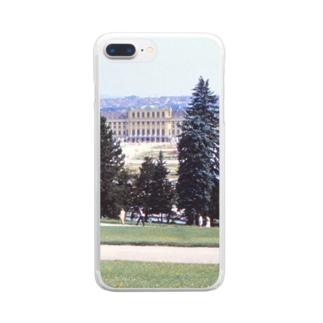 オーストリア:シェーンブルン宮殿 Austria: Schloss Schönbrunn / Wien Clear smartphone cases