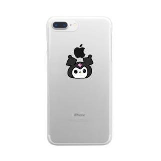 くろみさん Clear smartphone cases