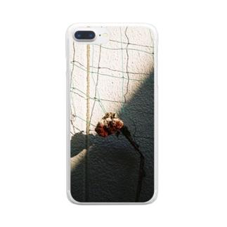 知らない間に生き延びた優しさ Clear smartphone cases